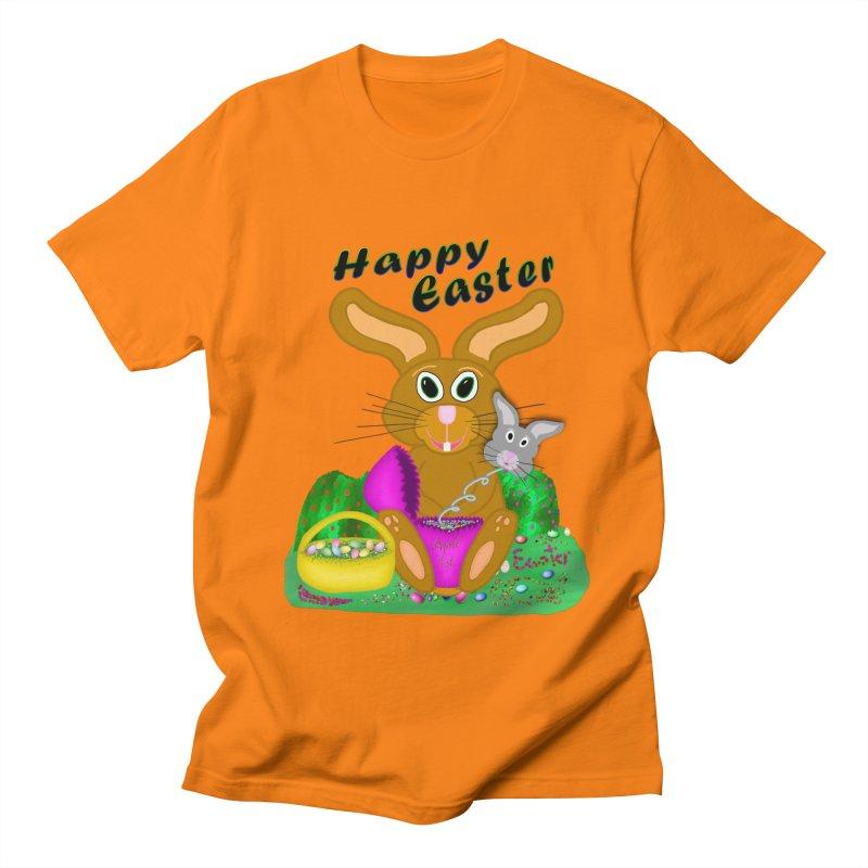 Prankster Bunny Women's Regular Unisex T-Shirt by nicolekieferdesign's Artist Shop