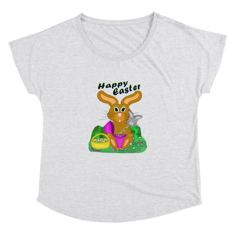 Prankster Bunny Women's Dolman Scoop Neck by nicolekieferdesign's Artist Shop