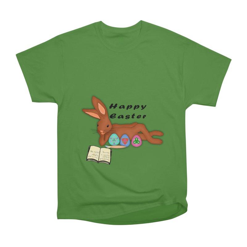 Learning Bunny Men's Classic T-Shirt by nicolekieferdesign's Artist Shop