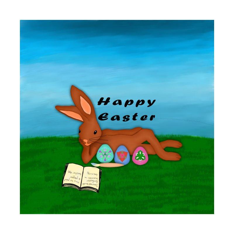 Easter bunny in training by nicolekieferdesign's Artist Shop