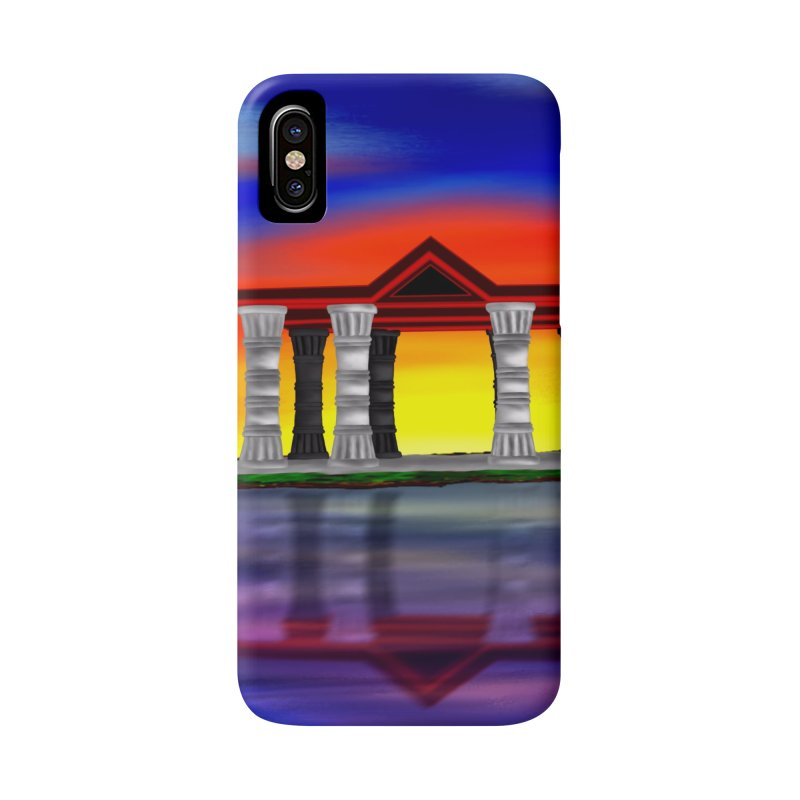 The Temple Accessories Phone Case by nicolekieferdesign's Artist Shop