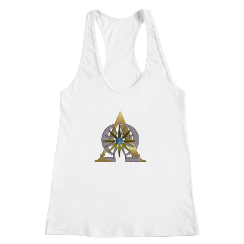 Appollo's Prophecy Women's Racerback Tank by nicolekieferdesign's Artist Shop