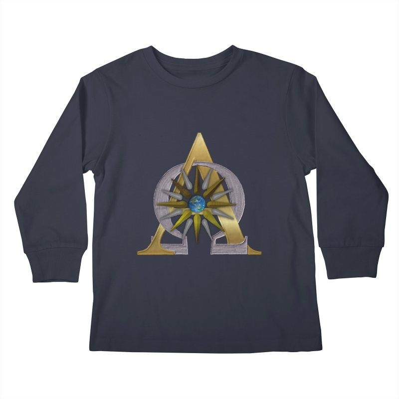 Appollo's Prophecy Kids Longsleeve T-Shirt by nicolekieferdesign's Artist Shop