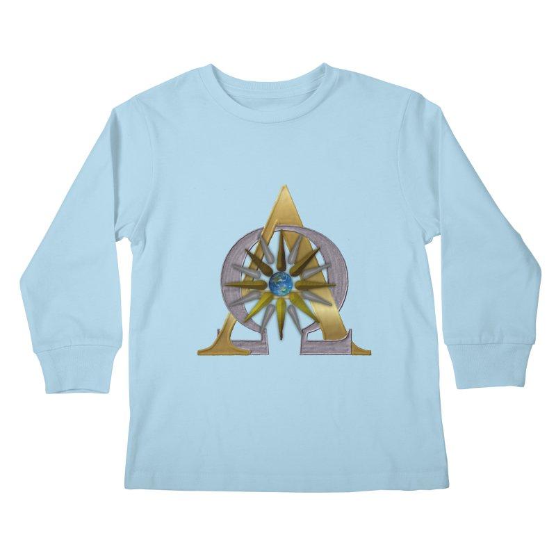 Appollo's Prophecy Kids Longsleeve T-Shirt by nicolekieferdesign's Artist Shop