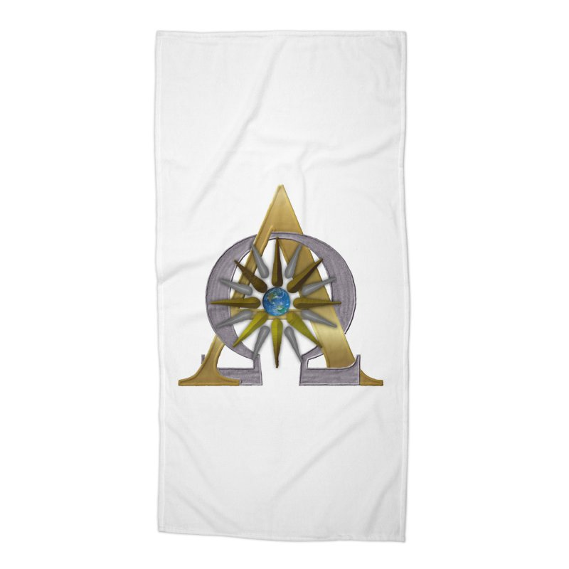 Appollo's Prophecy Accessories Beach Towel by nicolekieferdesign's Artist Shop