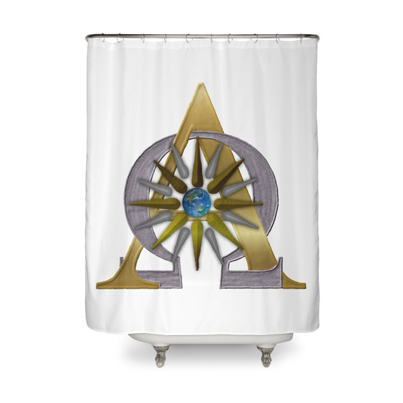 Appollo's Prophecy Home Shower Curtain by nicolekieferdesign's Artist Shop