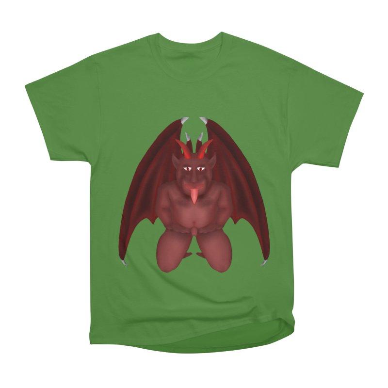 Red Gargoyle Men's Classic T-Shirt by nicolekieferdesign's Artist Shop