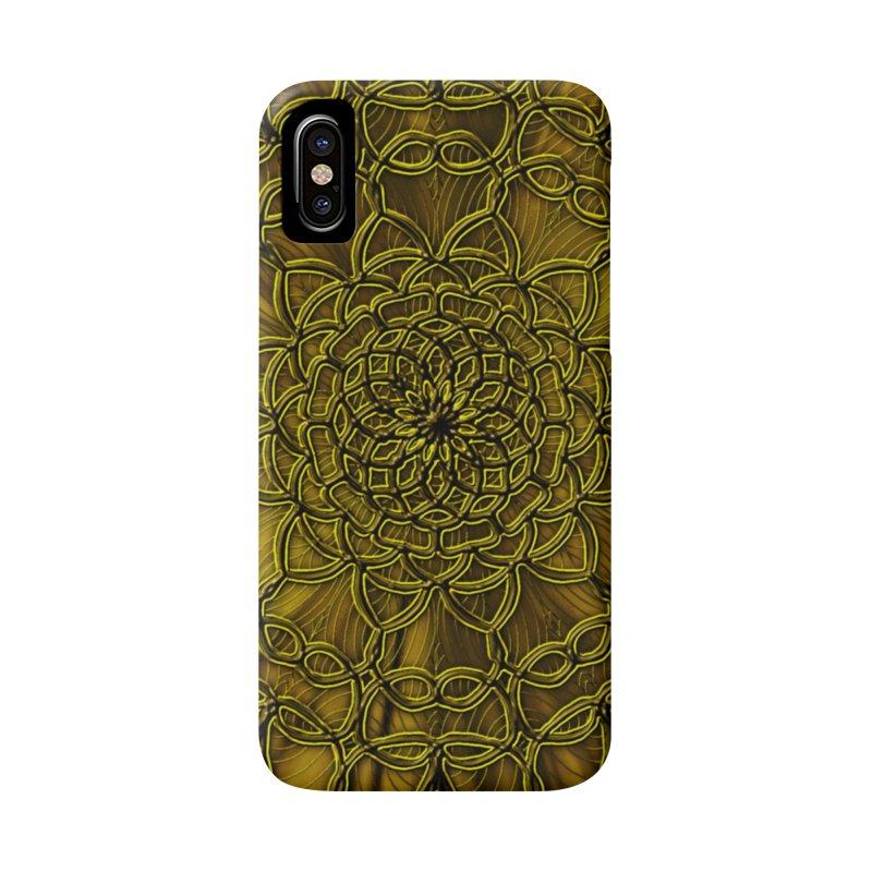 Golden Lace Accessories Phone Case by nicolekieferdesign's Artist Shop