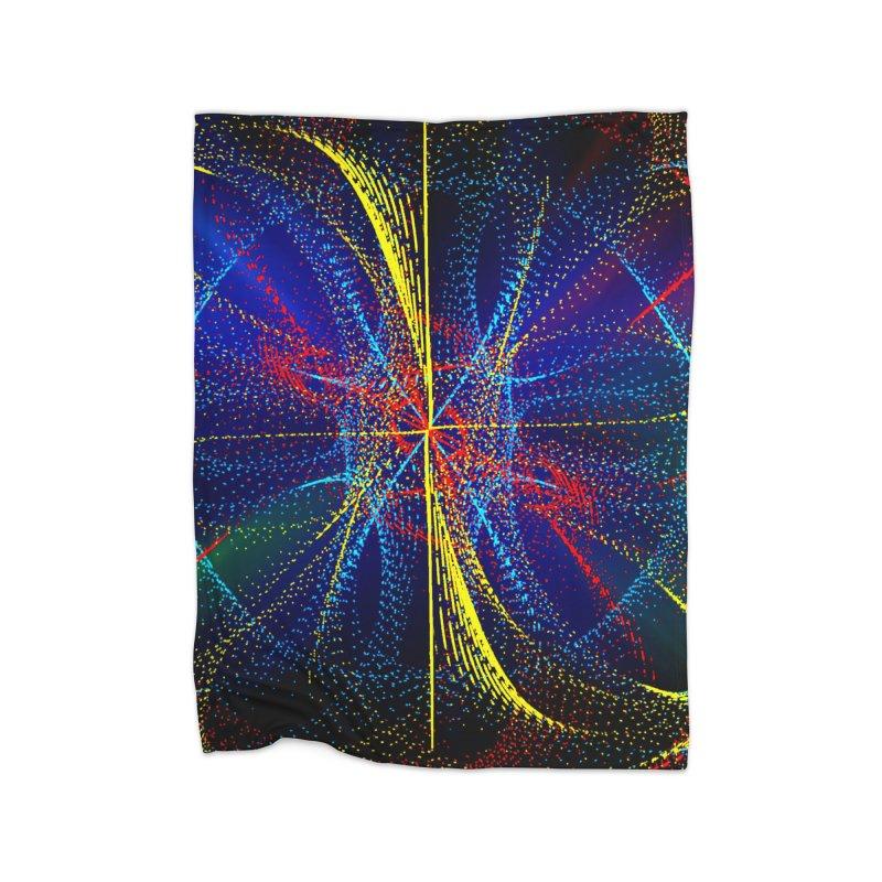 Dotswirls Home Blanket by nicolekieferdesign's Artist Shop