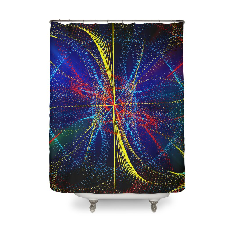 Dotswirls Home Shower Curtain by nicolekieferdesign's Artist Shop