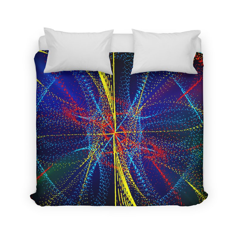 Dotswirls Home Duvet by nicolekieferdesign's Artist Shop