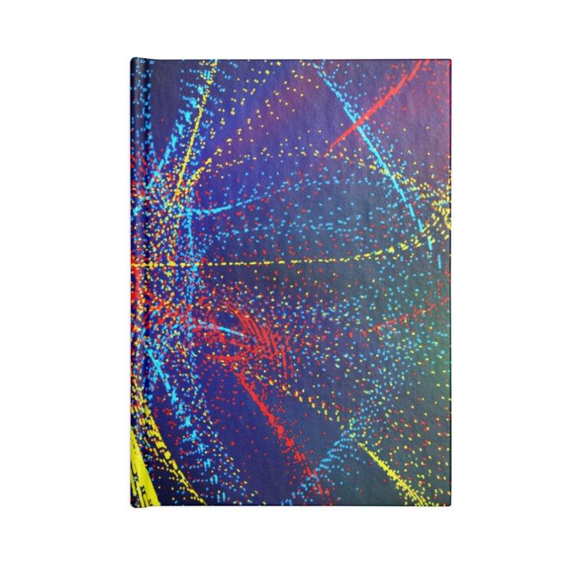 Dotswirls Accessories Notebook by nicolekieferdesign's Artist Shop