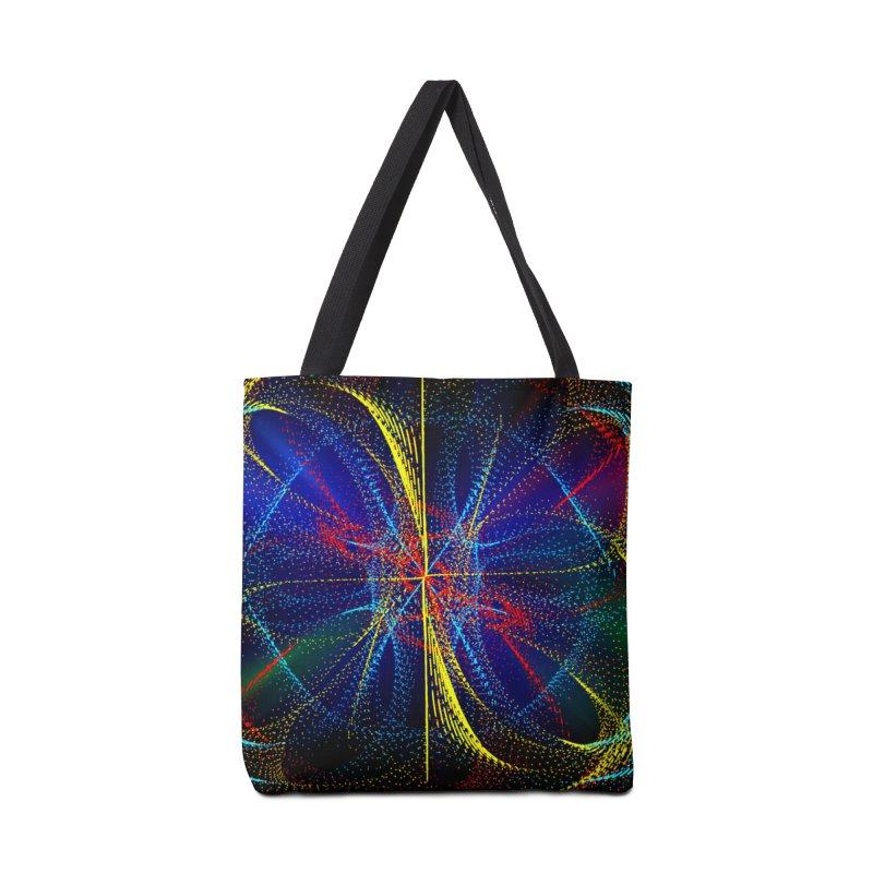Dotswirls Accessories Bag by nicolekieferdesign's Artist Shop
