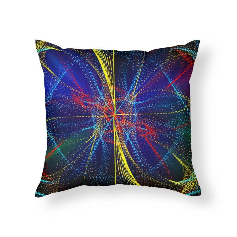 Dotswirls Home Throw Pillow by nicolekieferdesign's Artist Shop