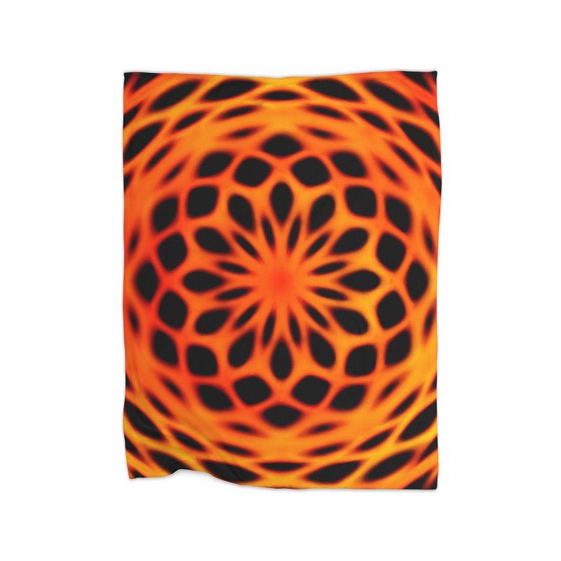 Fire Dome Home Blanket by nicolekieferdesign's Artist Shop