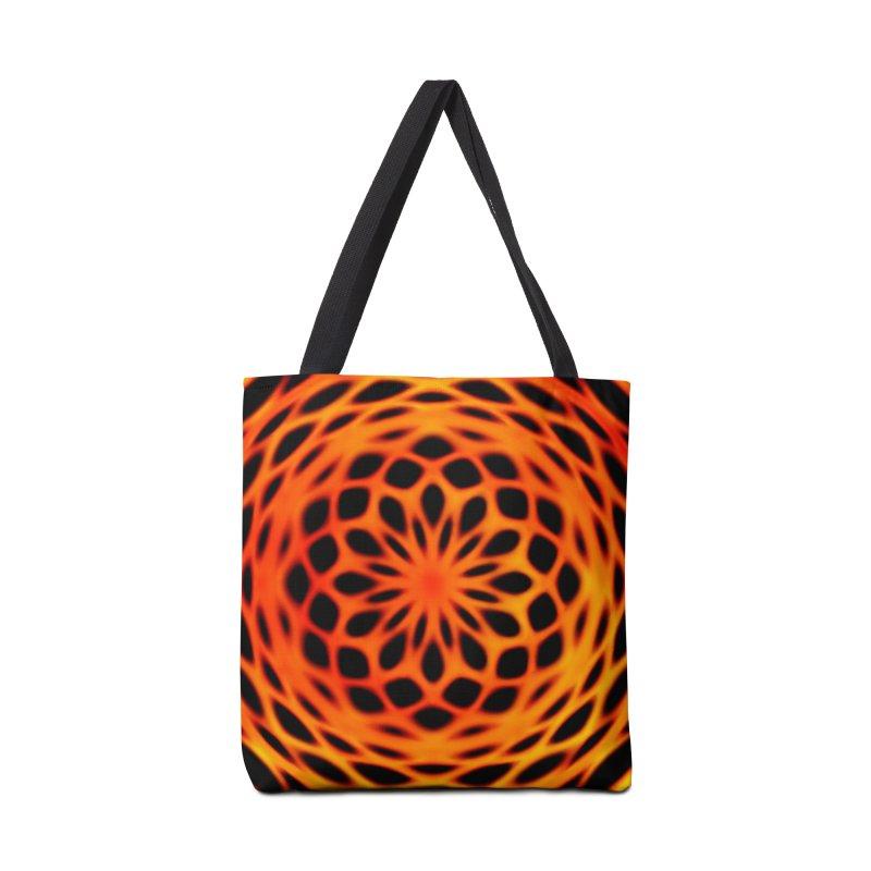 Fire Dome Accessories Bag by nicolekieferdesign's Artist Shop
