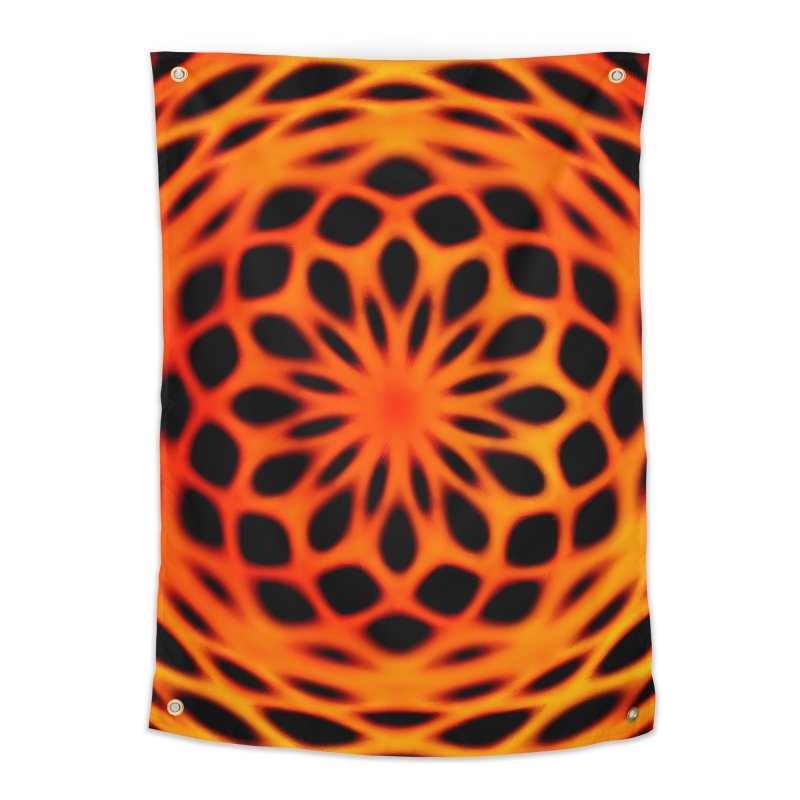 Fire Dome Home Tapestry by nicolekieferdesign's Artist Shop
