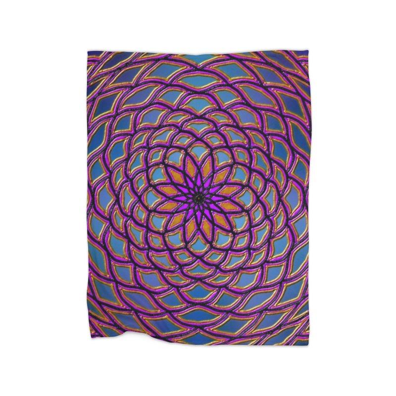 Flower Dome Home Blanket by nicolekieferdesign's Artist Shop