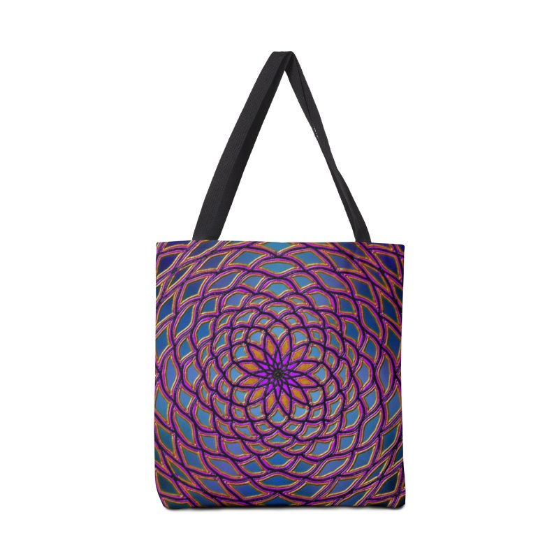 Flower Dome Accessories Bag by nicolekieferdesign's Artist Shop