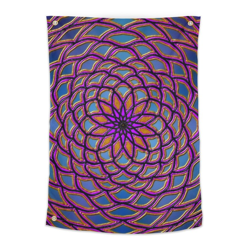 Flower Dome Home Tapestry by nicolekieferdesign's Artist Shop