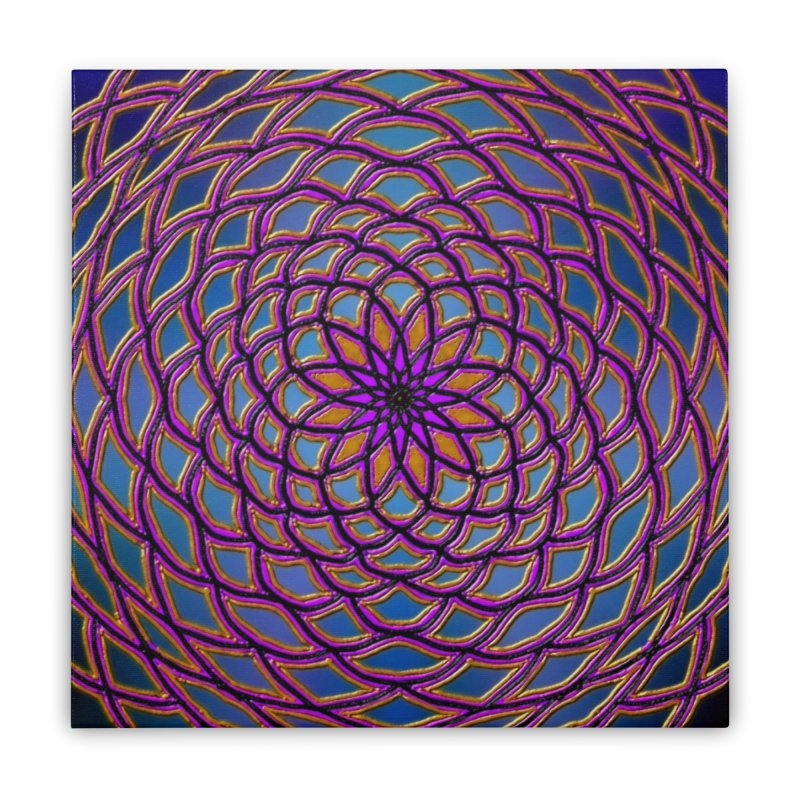 Flower Dome Home Stretched Canvas by nicolekieferdesign's Artist Shop