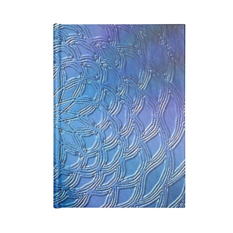 Hues of Blue Accessories Notebook by nicolekieferdesign's Artist Shop