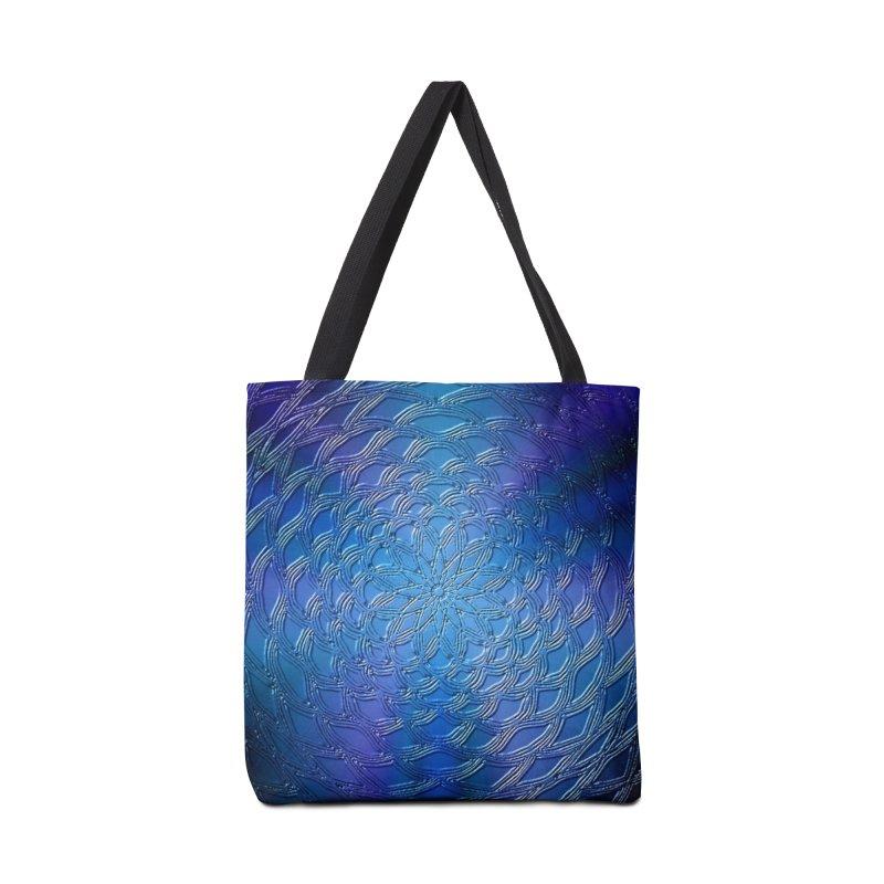 Hues of Blue Accessories Bag by nicolekieferdesign's Artist Shop