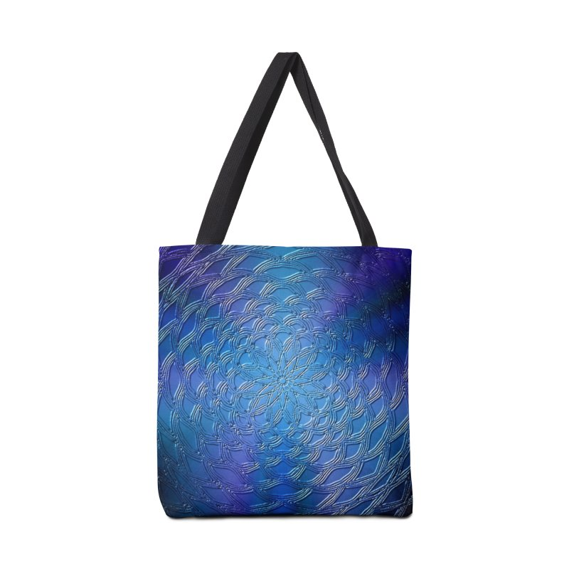 Hues of Blue Accessories Tote Bag Bag by nicolekieferdesign's Artist Shop