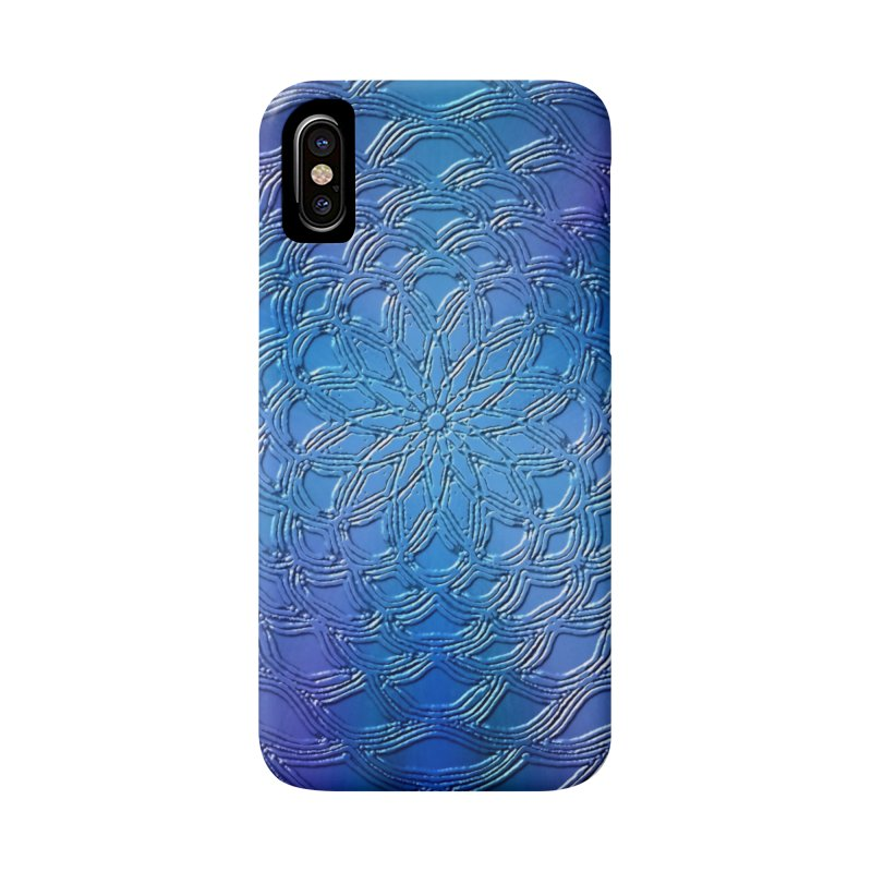 Hues of Blue Accessories Phone Case by nicolekieferdesign's Artist Shop