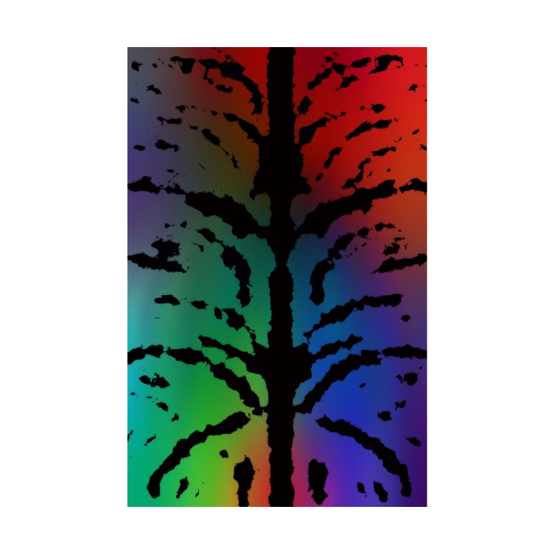 Inksplash on a Rainbow by nicolekieferdesign's Artist Shop