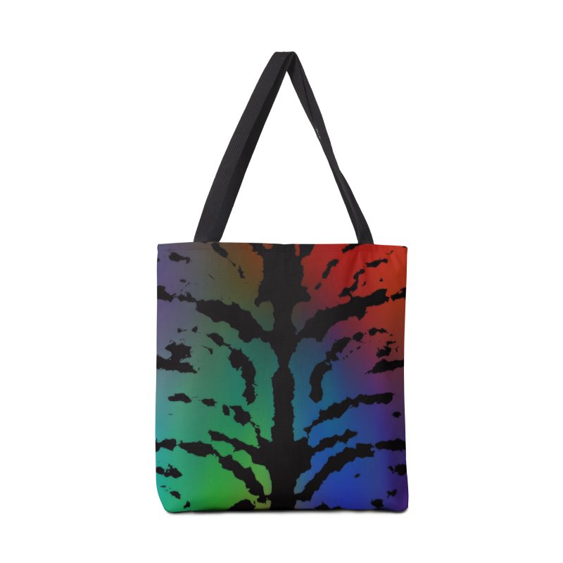 Inksplash on a Rainbow Accessories Tote Bag Bag by nicolekieferdesign's Artist Shop