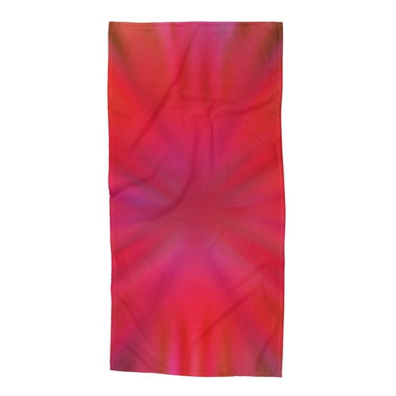 Tropical Flower Accessories Beach Towel by nicolekieferdesign's Artist Shop