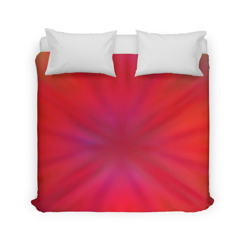 Tropical Flower Home Duvet by nicolekieferdesign's Artist Shop