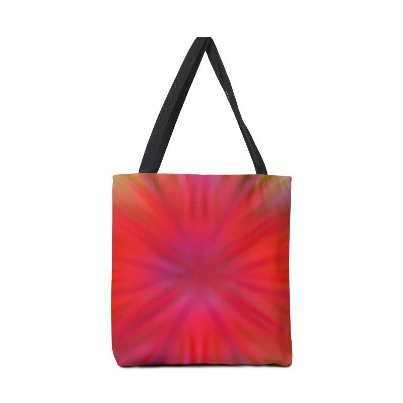 Tropical Flower Accessories Bag by nicolekieferdesign's Artist Shop