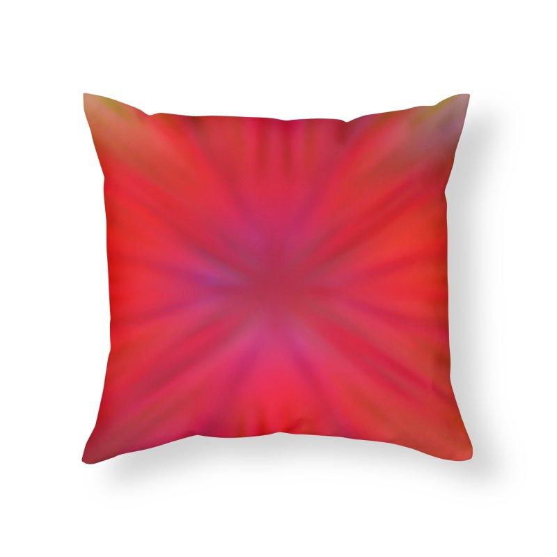 Tropical Flower Home Throw Pillow by nicolekieferdesign's Artist Shop