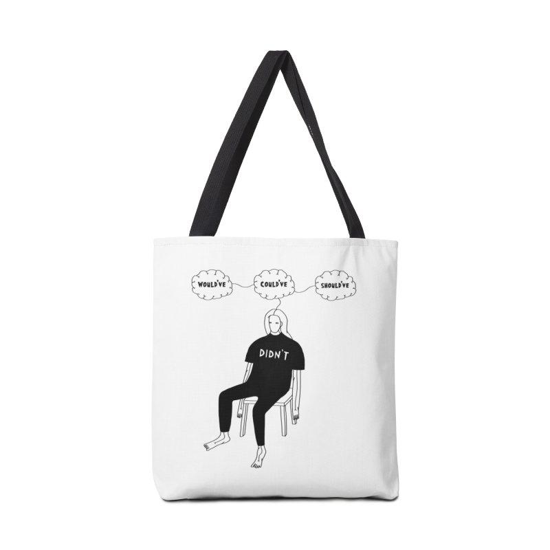 Should've, Could've, Would've Accessories Bag by Nicole Zaridze's Shop