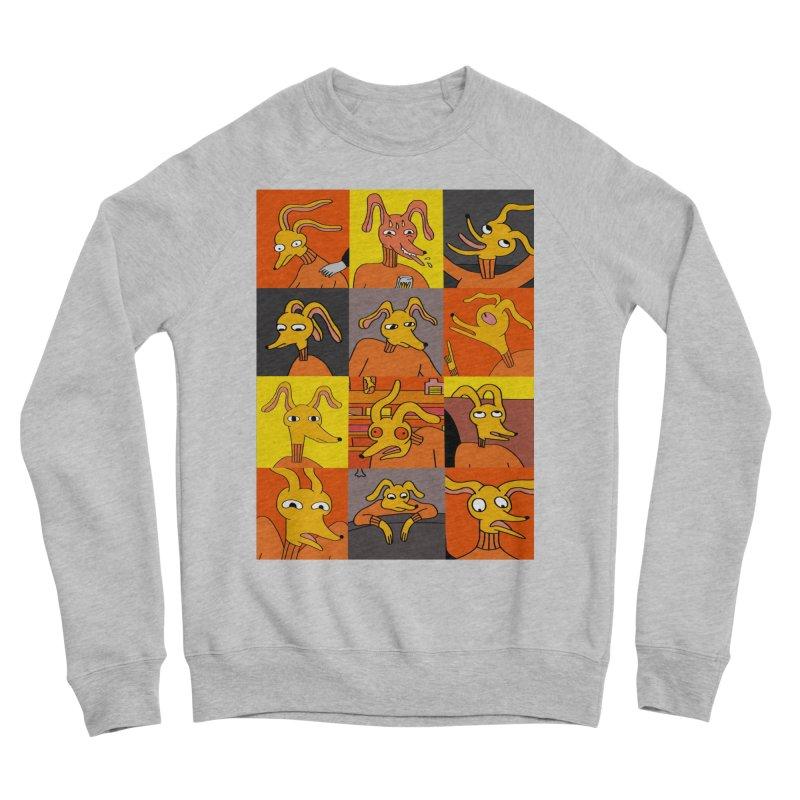 Dogboy Moodboard Women's Sponge Fleece Sweatshirt by Nicole Zaridze's Shop