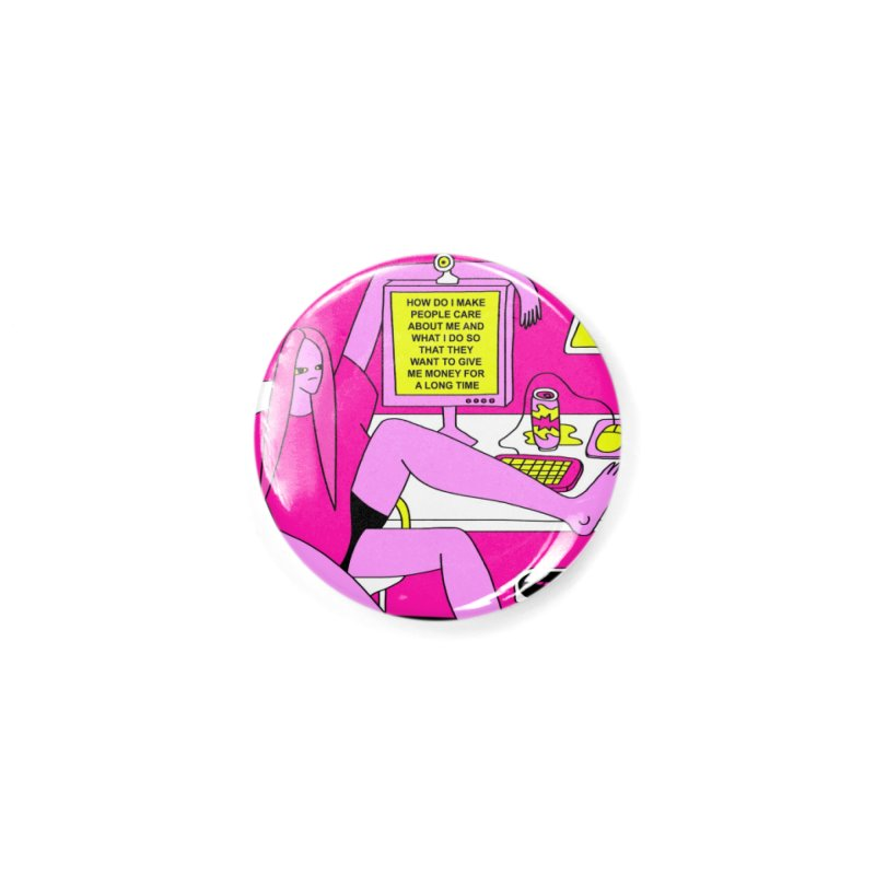 How Do I Make People Care Accessories Button by Nicole Zaridze's Shop