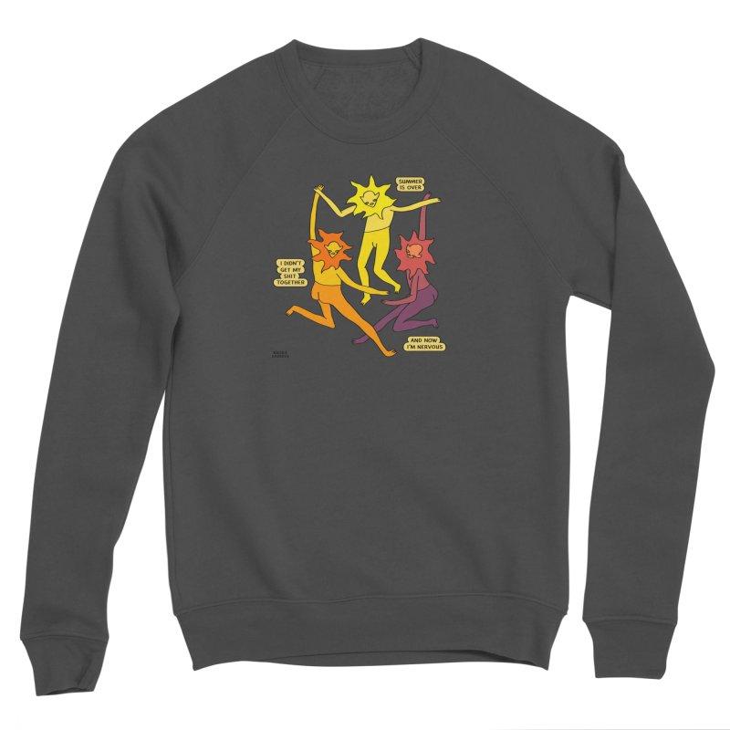 Summer Is Over Women's Sponge Fleece Sweatshirt by Nicole Zaridze's Shop