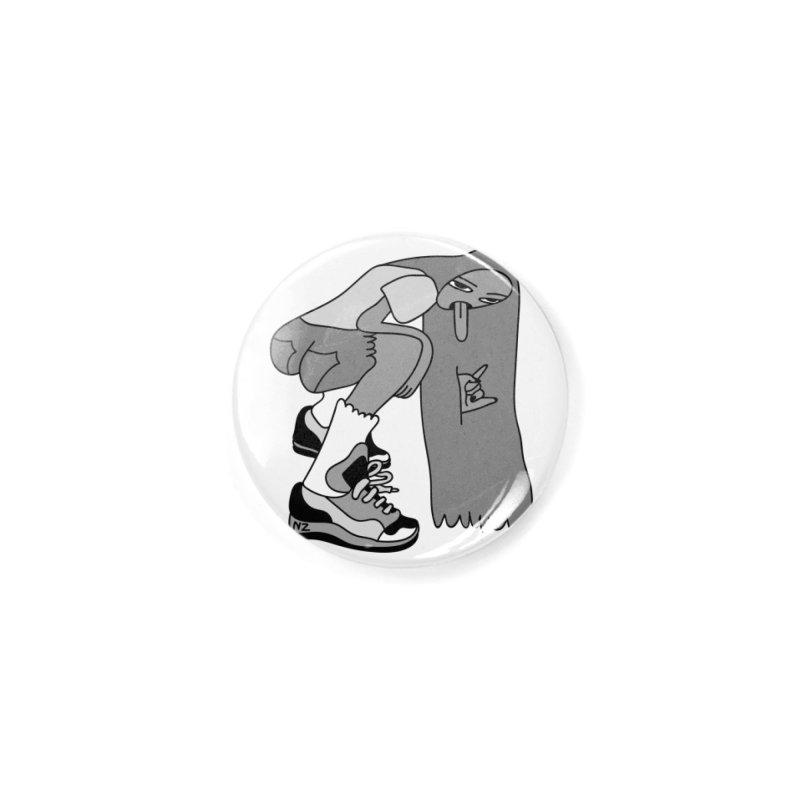 Cool Girl Grey Accessories Button by Nicole Zaridze's Shop