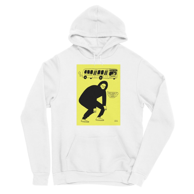Missed The Love Town Bus Men's Pullover Hoody by Nicole Zaridze's Shop