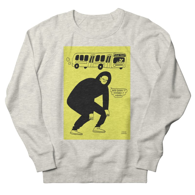 Missed The Love Town Bus Men's Sweatshirt by Nicole Zaridze's Shop