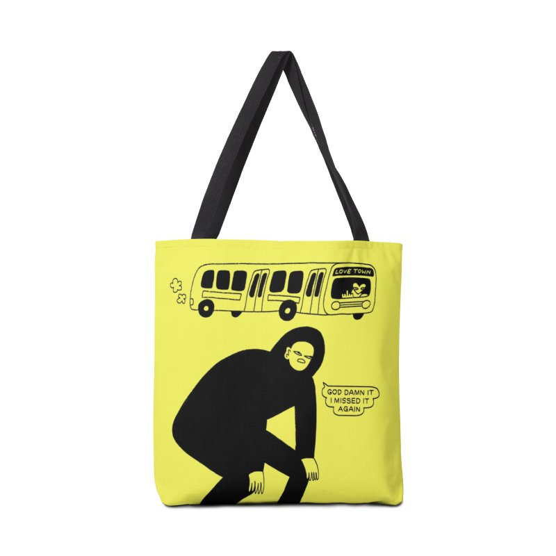 Missed The Love Town Bus Accessories Bag by Nicole Zaridze's Shop