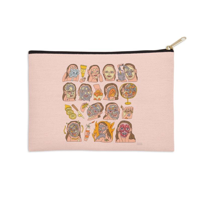 Elaborate Skin Care Routine Accessories Zip Pouch by Nicole Zaridze's Shop