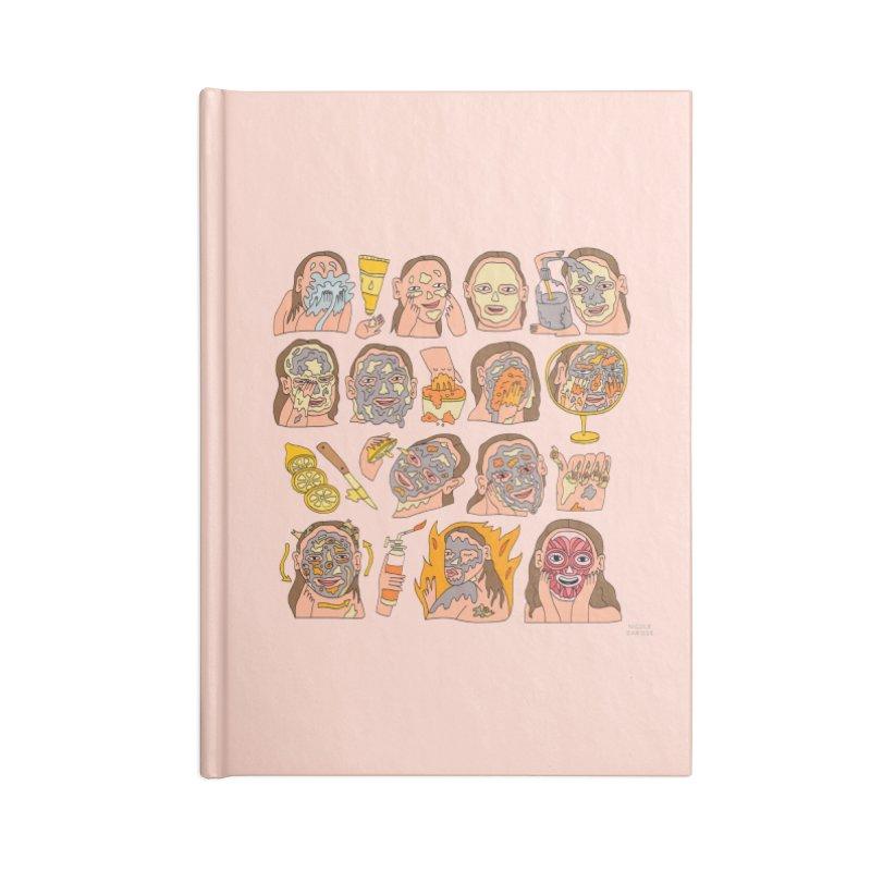 Elaborate Skin Care Routine Accessories Notebook by Nicole Zaridze's Shop