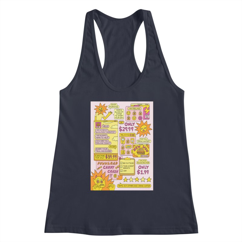 Self Care Apps Women's Tank by Nicole Zaridze's Shop
