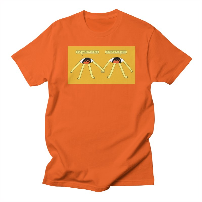 Out With The Old, In With The New Men's T-Shirt by Nicole Zaridze's Shop