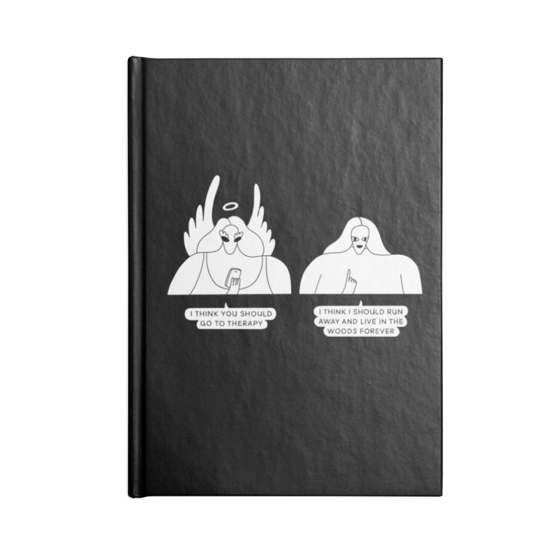 Run Away In The Woods Forever Accessories Notebook by Nicole Zaridze's Shop