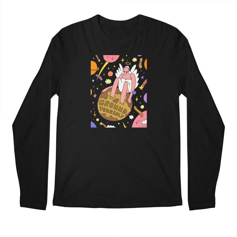 Ground Yourself Men's Longsleeve T-Shirt by Nicole Zaridze's Shop