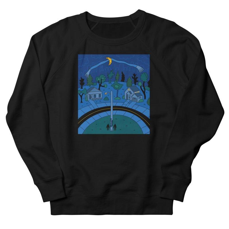 The Moon's Big Hug Men's Sweatshirt by Nicole Zaridze's Shop
